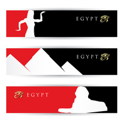 Egypt banners
