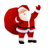 Vector Illustration of Santa Claus