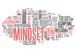"Word Cloud ""Mindset"""