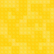 Yellow constructor blocks seamless pattern