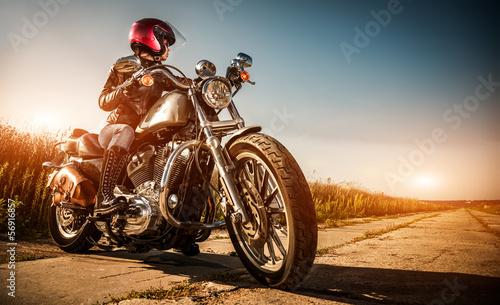 Biker girl - 56916857