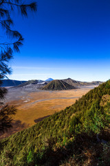 Magnificent mountain in Java Indonesia