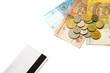 деньги и кредитная карточка
