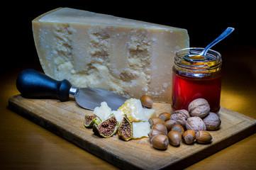 Parmigiano e miele