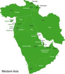 Green Western Asia
