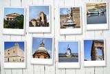Fototapety Polaroid Sicilia