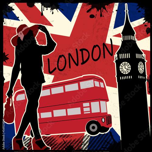 londyn-retro-plakat