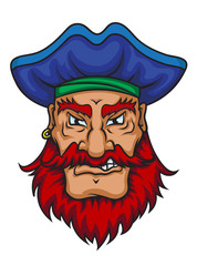Old pirate captain