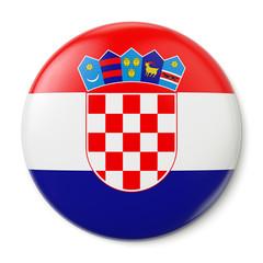 Croatia Pin-back