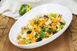 Pumpkin salad. Festive Roast Pumpkin Salad
