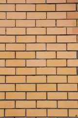 background of a new brick wall