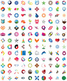 Huge collection of trendy icons