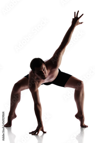 Adult male dancer