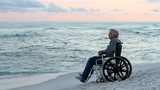 Senior Wheelchair Beach