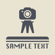 Photography icon or sign, vector illustration