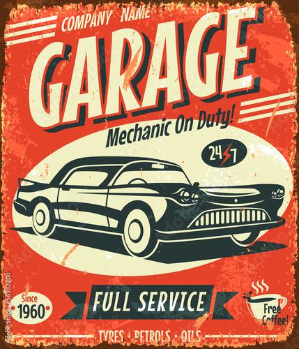 retro car service