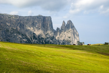 Seiser Alm in South Tyrol