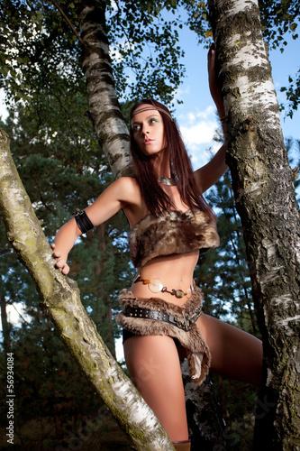 Amazone Kämpferin Mittelalter