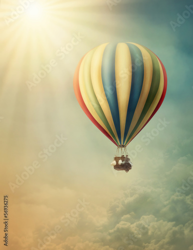 Hot air balloon - 56936275