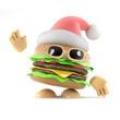 Burger Santa