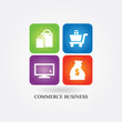 Logo commerce business