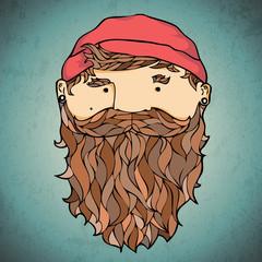 Bearded corsar