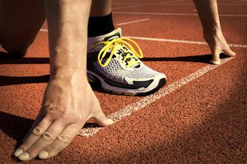 runner stadium start position