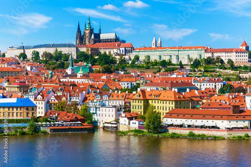 Aluminium Praag Scenery of Prague, Czech Republic