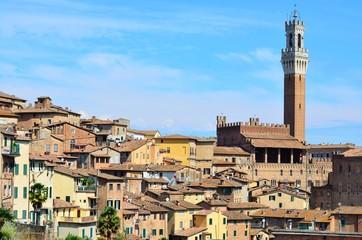 Siena con la Torre del Mangia