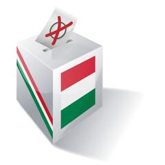 Wahlbox Ungarn