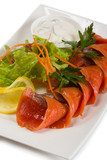 Sockeye salmon in spicy brine