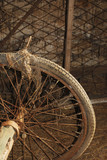 Wheel on Old Cart