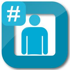 Icone : hashtag