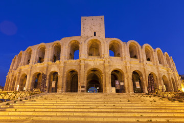 Les Arenas, Arles in the south of France