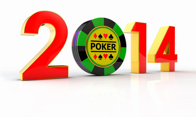 2014 golden number  and chips