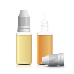 e-liquid, e-cigarette - cmyk vector
