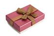 cajas de regalos en fondo blanco