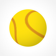 Softball ball