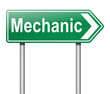 Mechanic concept.