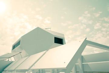 Independent modular futuristic building