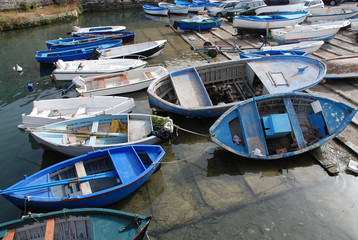 Boats in Gallipoli Harbour
