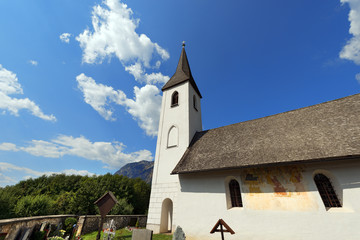 Small Gothic Church, Oberschütt Austria