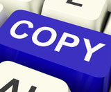 Copy Keys Mean Duplicate Copying Or Replicate.