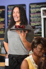 Cheerful Restaurant Owner