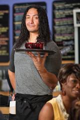 Confident Cafe Owner