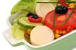 Une salade composée
