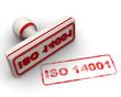 Печать и оттиск. ISO 14001