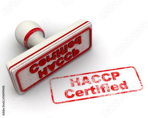 Печать и оттиск. HACCP Certified