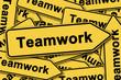 Teamwork, Schilderhaufen