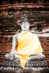 Wat yai chaimongkol, Ancient temple and monument in Thailand